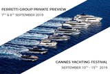 Ferretti Group Private Preview & Cannes Yachting Festival 2019