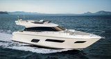"FERRETTI YACHTS 550 - the new charming ""small"" one, refined elegance with a sporty character"